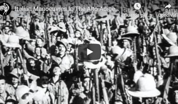 1935: le manovre militari in Alto Adige (da British Pathè)