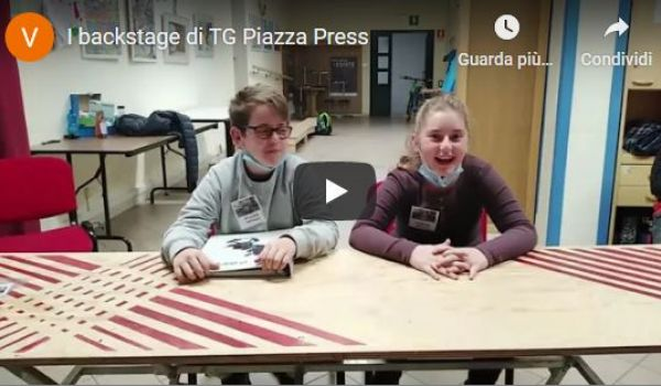 Merano: i backstage di Tg Piazza Press (Vigiliu's TV UPAD)